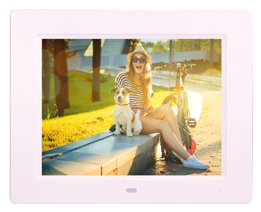 Цифровая фоторамка Digma PF-833, White