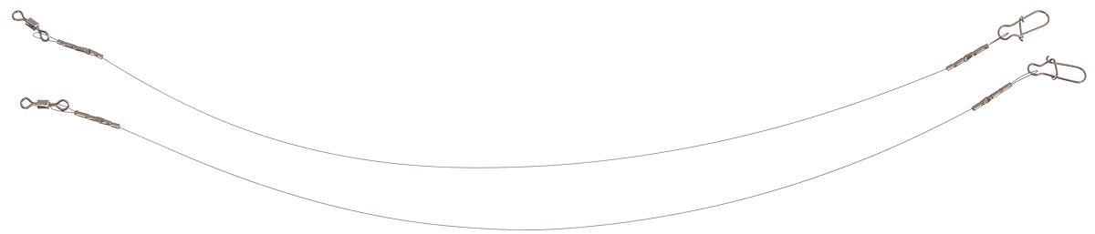 Поводок Win Soft, мягкий, тест 4 кг, 17,5 см, 2 шт56972Поводок Win Soft изготовлен из особого титанового сплава. Материал производится по специальной технологии, отличается специальным легированием и дополнительной термомеханической обработкой. Мягкость и пластичность обеспечивает приманке большую свободу движений. При небольших механических повреждениях поводок восстанавливает форму от тепла рук. Многократно растягивается до 8% под нагрузкой без ущерба прочности. Не подвержен коррозии, не токсичен.Особенности поводка:Многократно испытан на прочность.Высококачественная фурнитура подобрана с достаточным запасом прочности.Контроль качества на всех этапах производства.Длина поводков: 17,5 см.Тест: 4 кг.Диаметр: 0,2 мм.