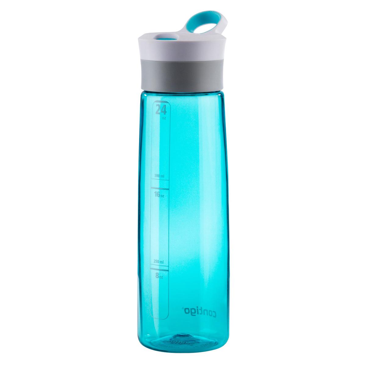 Бутылка для воды Contigo Grace, 750 млcontigo0204Бутылка для воды Contigo Grace сделана из ударопрочного пластика.Удобный носик для питья. Уникальная технология Autoseal обеспечивает особый комфорт во время питья. Автоматический клапан закрывается после каждого глотка и исключает проливание напитка.Объем 750 мл.