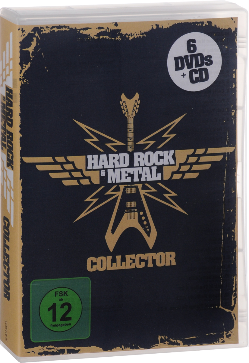 Hard Rock & Metal Collector (6 DVD + CD) coldplay dvd collector s box 2 dvd