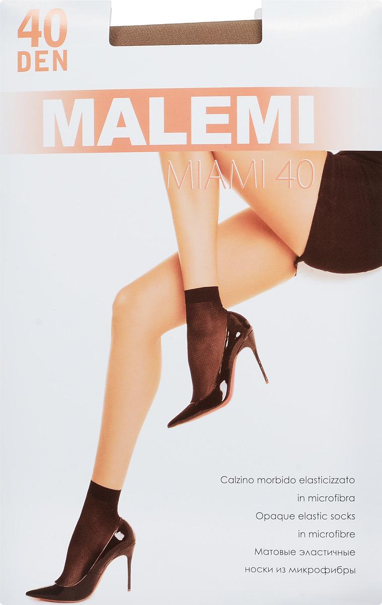 Носки женские Malemi Miami 40, цвет: Melon (телесный), 2 пары. 9065. Размер универсальный9065Удобные женские носки Malemi Miami 40, изготовленные из высококачественного эластичного полиамида, идеально подойдут для повседневной носки. Входящий в состав материала полиамид обеспечивает износостойкость, а эластан позволяет носочкам легко тянуться, что делает их комфортными в носке.Эластичная резинка плотно облегает ногу, не сдавливая ее, обеспечивая комфорт и удобство и не препятствуя кровообращению. Практичные и комфортные носки великолепно подойдут к любой открытой обуви. В комплект входят 2 пары носков.
