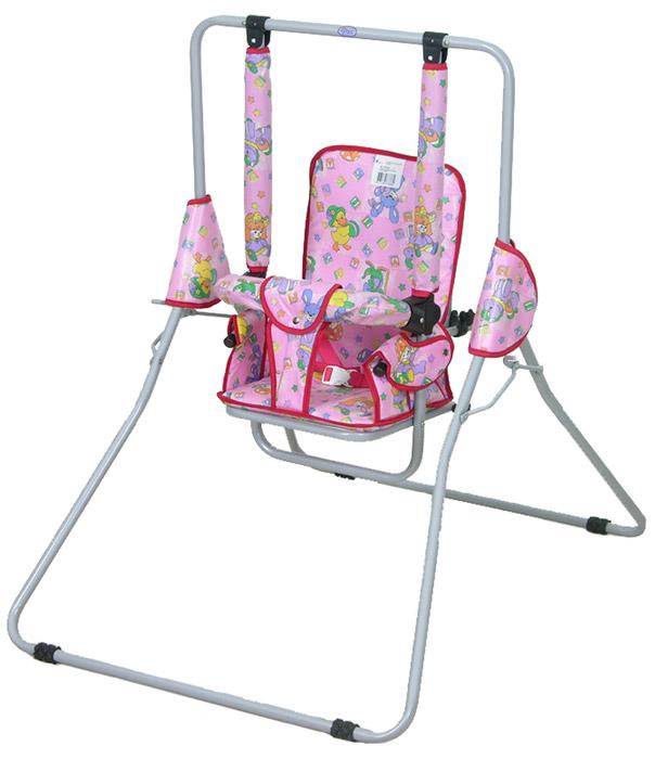Фея Качели детские Малыш цвет розовый детские качели в квартиру