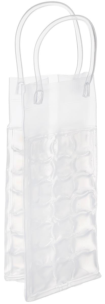 """Сумка-термос Tescoma """"Mydrink"""" предназначена для поддержания  идеальной температуры холодных напитков жарким летом. Отлично  подходит для сервировки белых, розовых вин и других  прохладительных напитков в саду, на террасе и в доме. Изделие  оснащено ручками, которые облегчают их переноску.  Рекомендуется помещать сумку-термос перед каждым  использованием по крайней мере на 8 часов в холодильник, затем  вынуть и вложить в нее охлажденный напиток.  Не подходит для использования в морозильной камере.  Размер сумки-термоса (без учета ручек): 10 х 9 х 25 см."""