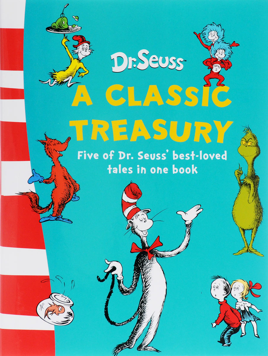 A Classic Treasury dr seuss bilingual classical books a set of 8 volumes for children improvement edition english and simplifiedchinese hardcover
