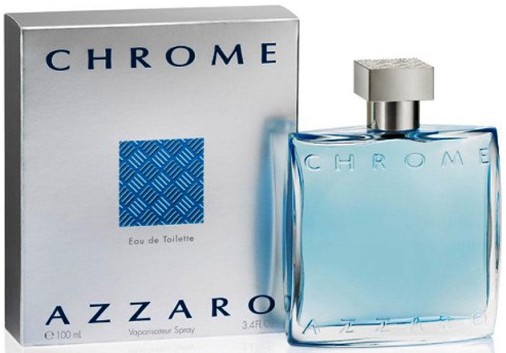 Azzaro Туалетная вода Chrome, мужская, 100 мл00007893Незримая парфюмерная аура Azzaro Chrome начинается немного экстравагантными, но в тоже время свежими нотками, переходящими к трепетным и чувственным нотам сердца. Основной лейтмотив задают ноты лимона, жасмина и ананаса которые, в данном случае, как ничто лучше подходят на роль авангарда аромата. За ними следует неожиданное продолжение в виде палитры из сочетаний дубового мха, кориандра и цикламена. Ароматы подобно мазкам художника, которые один за одним ложатся на холст, создавая тем самым непревзойдённый, полный страсти и загадочности парфюмерный шедевр.Краткий гид по парфюмерии: виды, ноты, ароматы, советы по выбору. Статья OZON Гид