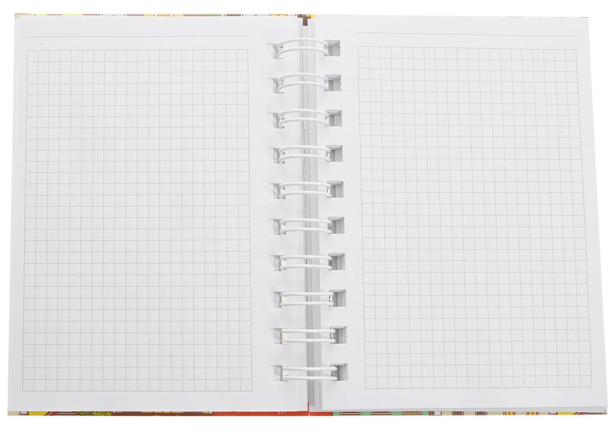 ListoffТетрадь Голландские домики 100 листов в клетку формат А6 Listoff