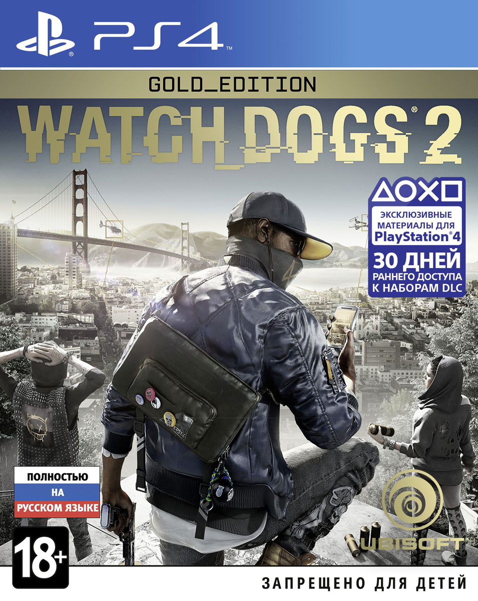 Watch Dogs 2. Gold Edition (PS4) игра для xbox медиа watch dogs dedsec edition