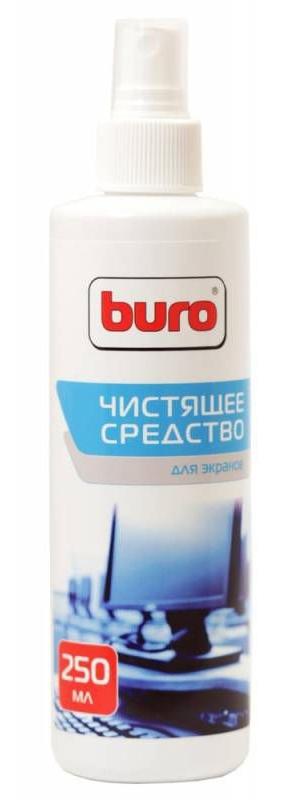Спрей для экранов ЖК мониторов Buro BU-Sscreen, 250 мл спрей buro bu snote для ноутбуков 250мл