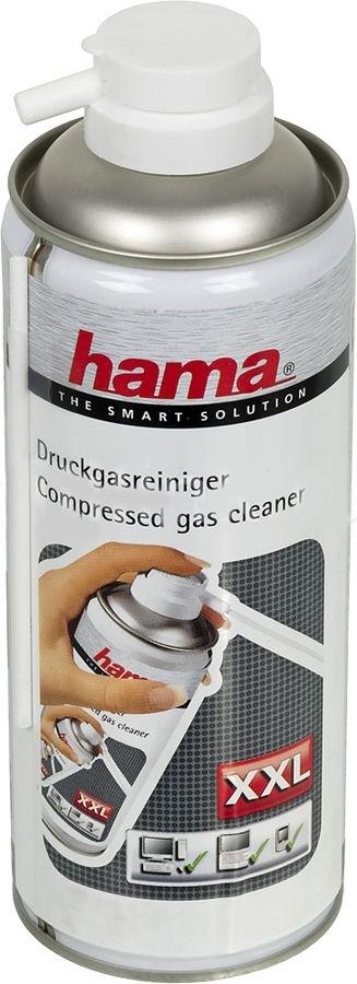Баллон со сжатым газом Hama H-84417 для очистки труднодоступных мест, 400 мл84417Балон-спрей со сжатым воздухом большого объема. Предназначен для очистки компьютерной и офисной техники в труднодоступных местах.