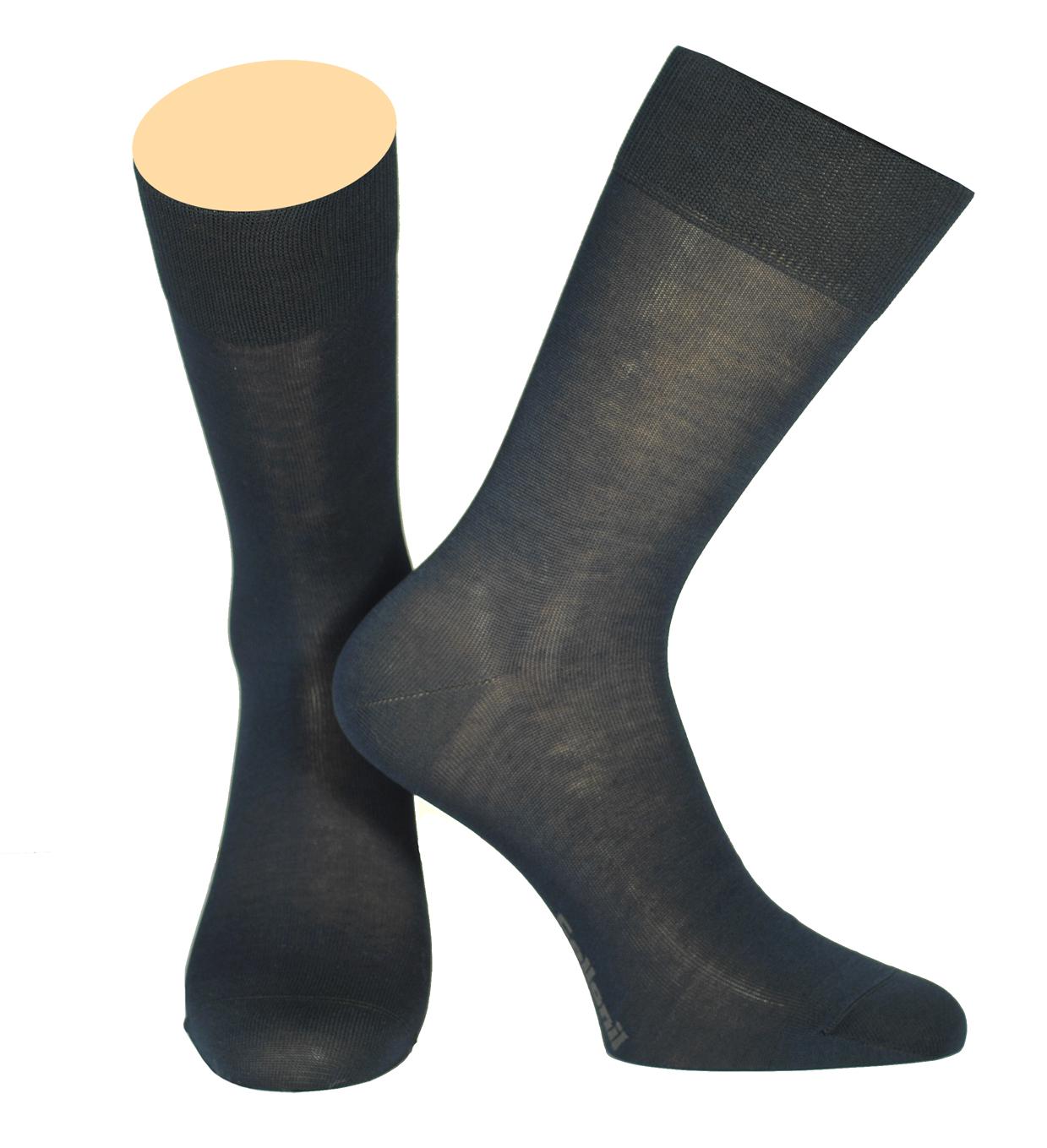 Носки мужские Collonil, цвет: темно-синий. 142/18. Размер 39-41142/18Мужские носки Collonil изготовлены из мерсеризованного хлопка.Носки с удлиненным паголенком. Широкая резинка не сдавливает и комфортно облегает ногу.