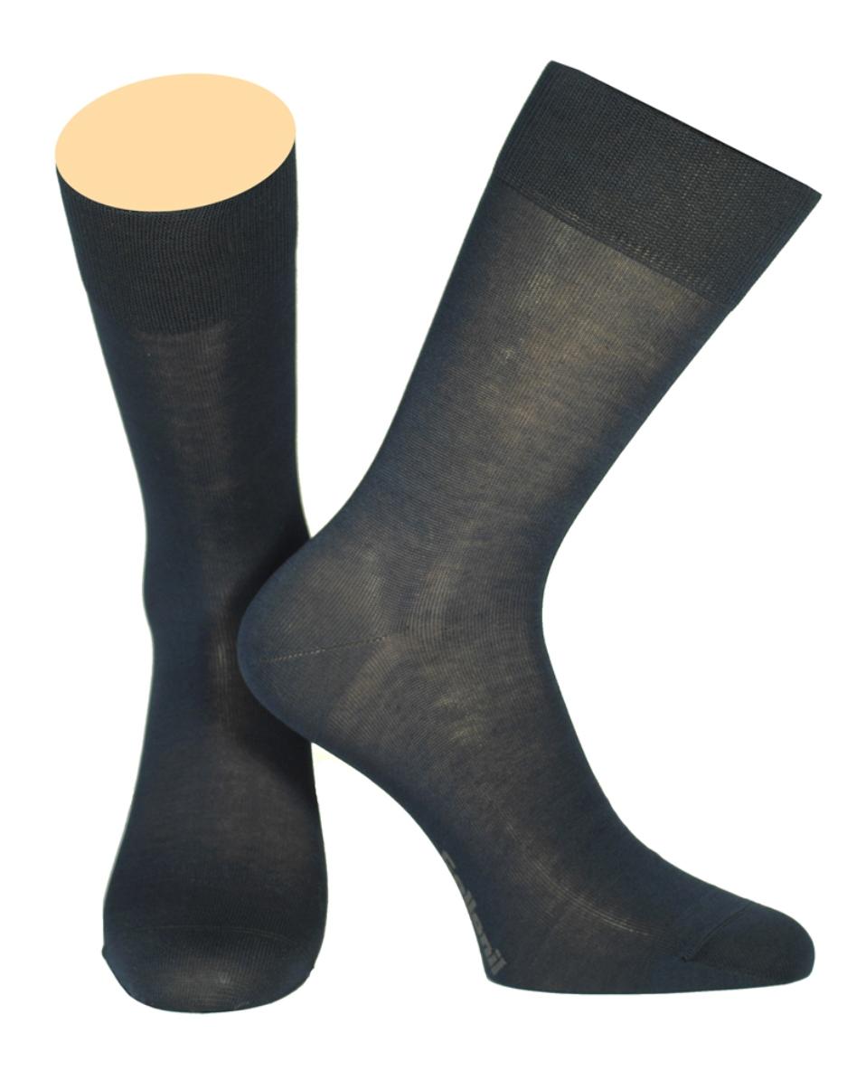Носки мужские Collonil, цвет: темно-синий. 150/18. Размер 44/46 носки мужские collonil цвет белый серый 2 18 27 размер 44 46