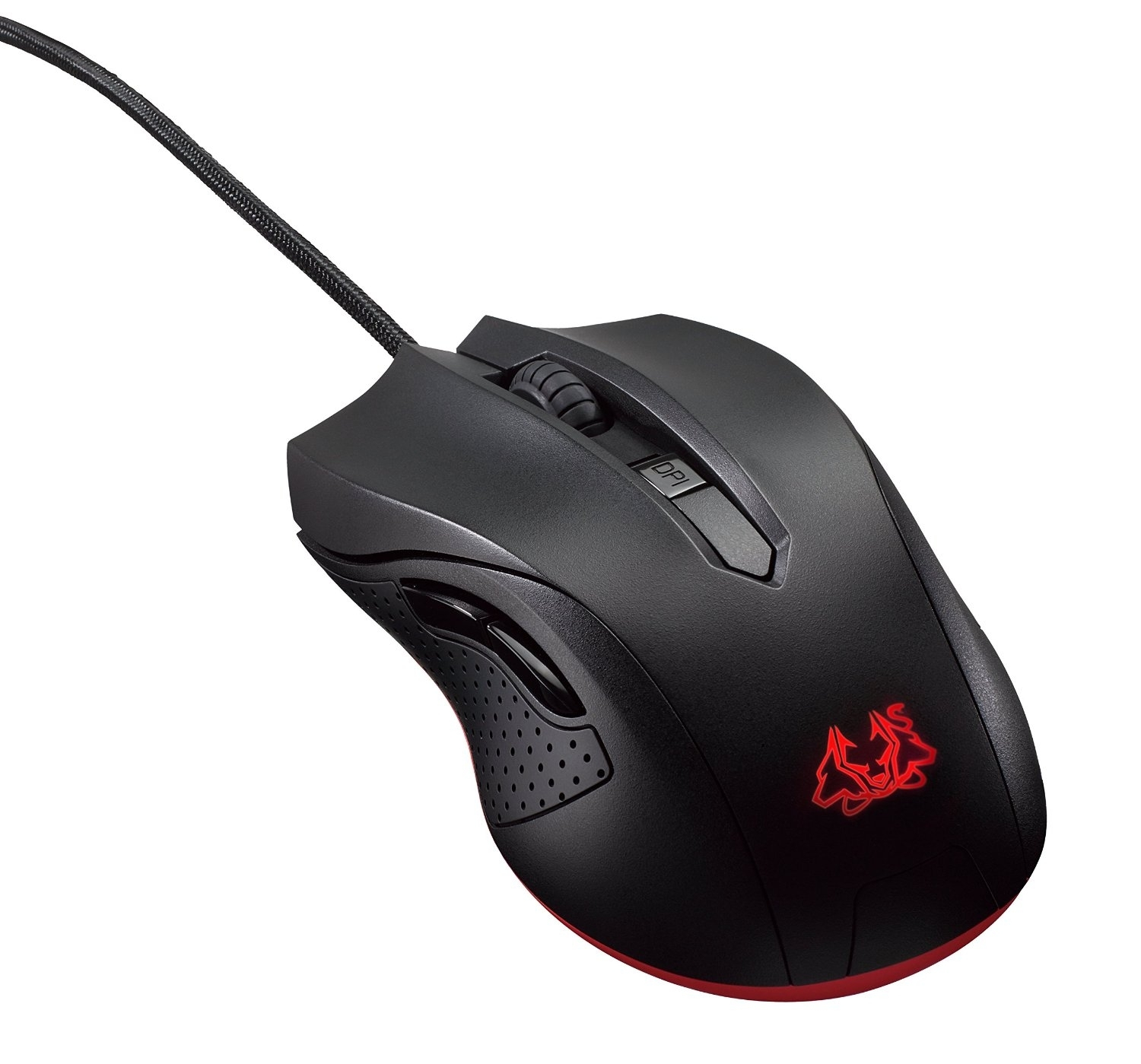 Игровая мышь ASUS Cerberus, Black Red