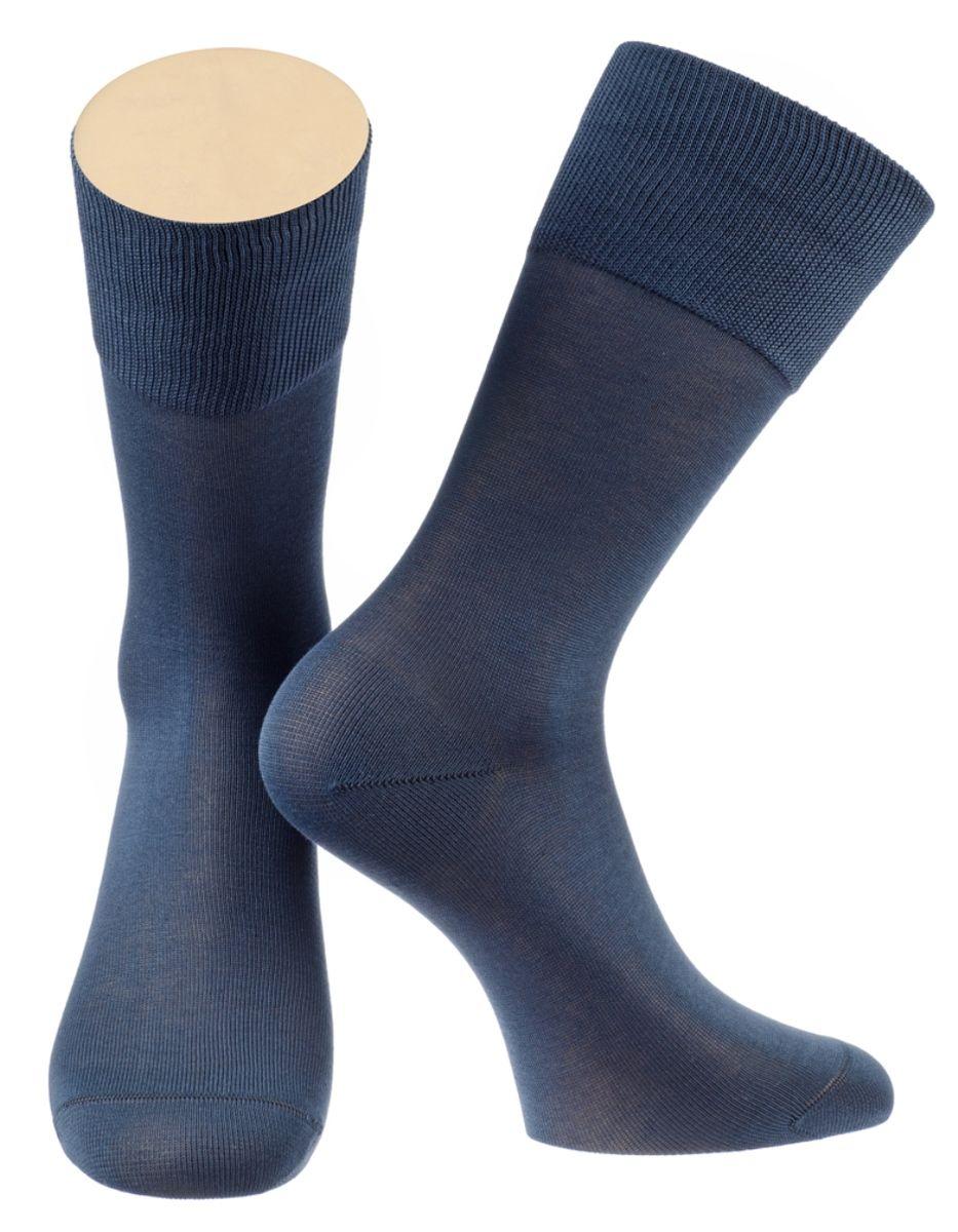 Носки мужские Collonil, цвет: синий. 2-15/08. Размер 42-432-15/08Мужские особо тонкие носки Collonil изготовлены из мерсеризованного хлопка с добавлением тактеля.Носки с удлиненным паголенком. Широкая резинка не сдавливает и комфортно облегает ногу.