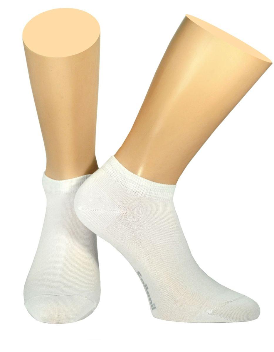 Носки мужские Collonil, цвет: белый. 2-18/07. Размер 42-432-18/07Мужские носки Collonil изготовлены из эластичного мерсеризованного хлопка с добавлением полиамида.Носки с укороченным паголенком. Широкая резинка не сдавливает и комфортно облегает ногу.