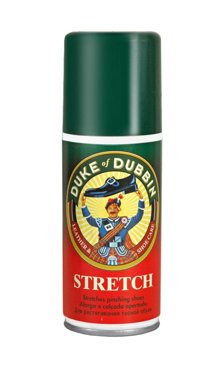 Пена для растягивания тесной обуви Duke of Dubbin Duke Stretch, 100 мл2531 000Эффективная спрей-пена Duke of Dubbin Duke Stretch предназначена для растяжки тесной обуви из всех видов кож. Не оставляет пятен и разводов. Предварительно проверить цветоустойчивость на незаметном участке изделия. Способ применения: Баллон перед применением встряхнуть. Распылите средство на тесное место в обуви и несколько минут походите в ней, либо используйте обувную колодку. При необходимости повторите. В случае, если обувь изготовлена из лаковой кожи, кожи рептилий или неровной кожи средство необходимо наносить только изнутри.