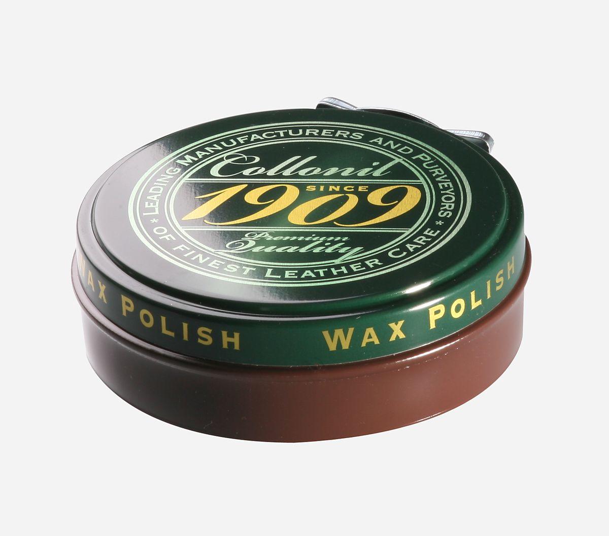 Воск для обуви Collonil Wax Polish, цвет: светло-коричневый, 75 мл6063 313Высококачественный твердый воск Collonil Wax Polish подходит для всех видов гладкой кожи. Комплексное сочетание шести видов восков, в том числе натурального пчелиного воска, насыщает кожу питательными веществами, заботится о сохранении ее качества и ухоженного внешнего вида. После полировки придает обуви роскошный блеск и сияние. Применяется для финишной обработки изделия.Объем: 75 мл. Товар сертифицирован.