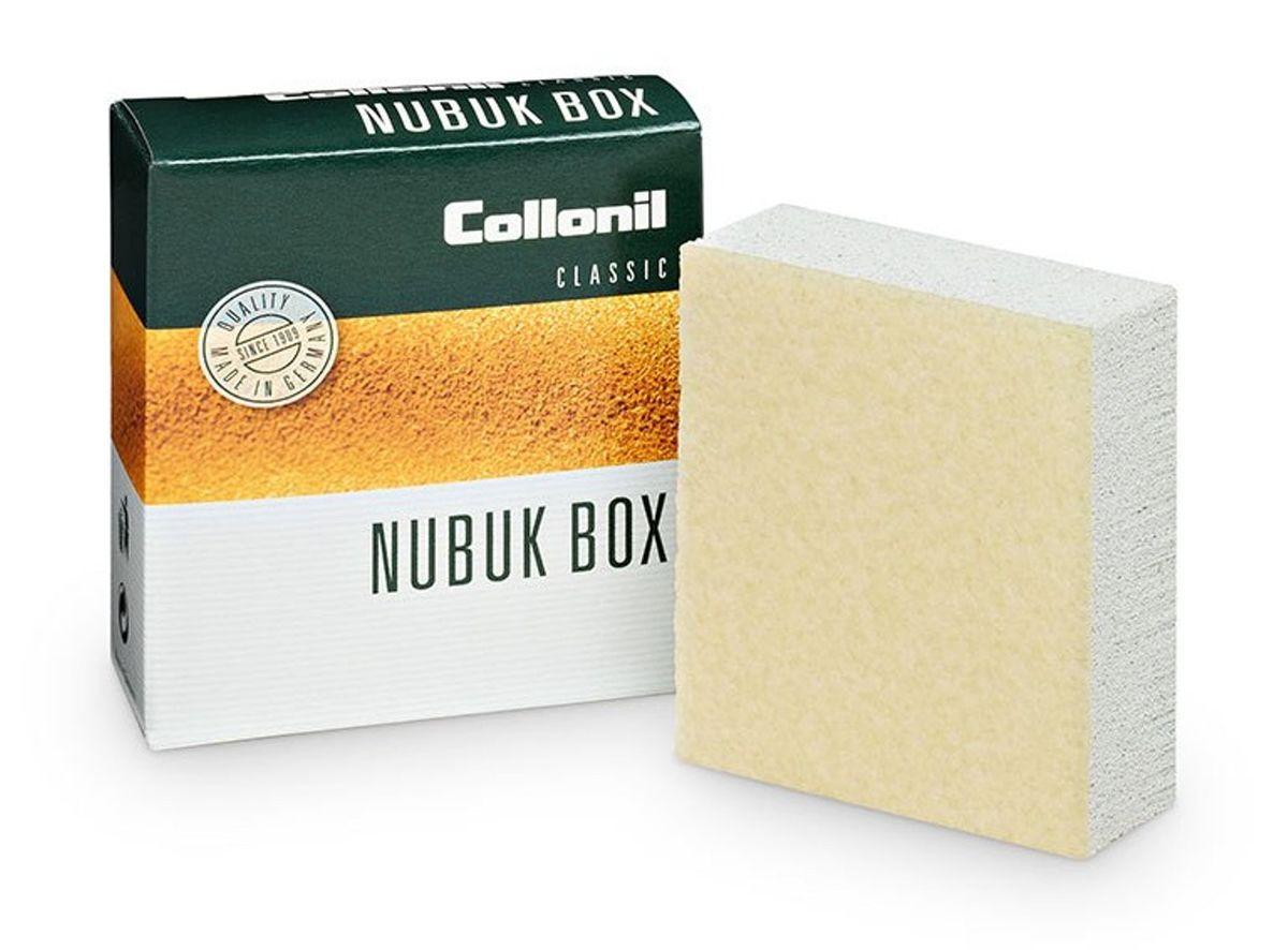 Ластик для ухода за обувью Collonil Nubuk Box/Vel.Nub.Box, для замши, велюра, нубука7030 000Ластик Collonil Nubuk Box/Vel.Nub.Box предназначен для сухой, деликатной чистки и расчесывания изделий из замши, велюра и нубука. Подходит для применения после использования пропитывающих средств и влажной чистки. Ластик двухслойный. Второй слой используется как креповая щетка.Ластик для сухой, деликатной чистки и расчесывания изделий из замши, велюра и нубука. Подходит для применения после использования пропитывающих средств и влажной чистки. Ластик двухслойный. Второй слой используется как креповая щетка.Способ применения:Чистить только в сухом виде! Потереть ластиком загрязнения и места, в которых необходимо приподнять ворс.