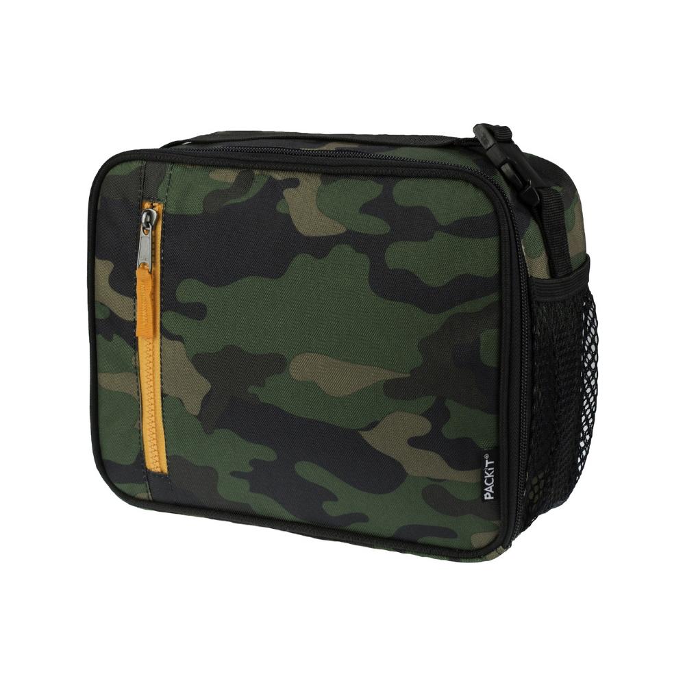 Сумка-холодильник Packit для ланча, цвет: хаки, 4,5 лPackit0014Охлаждение содержимых в сумке продуктов в течение 10-ти часов. Наличие плечевого ремня, обеспечивающего максимальное удобство транспортировки сумки.