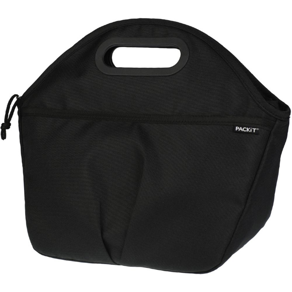 Сумка-холодильник Packit, цвет:черный, 5 лPackit0015Дорожная сумка-холодильник Packit - это надежное средство для обеспечения необходимой температуры и поддержания ее на протяжении длительного периода времени для транспортировки продуктов или других веществ. Охлаждение содержимых в сумке продуктов в течение 10-ти часов.Объем: 5 л.