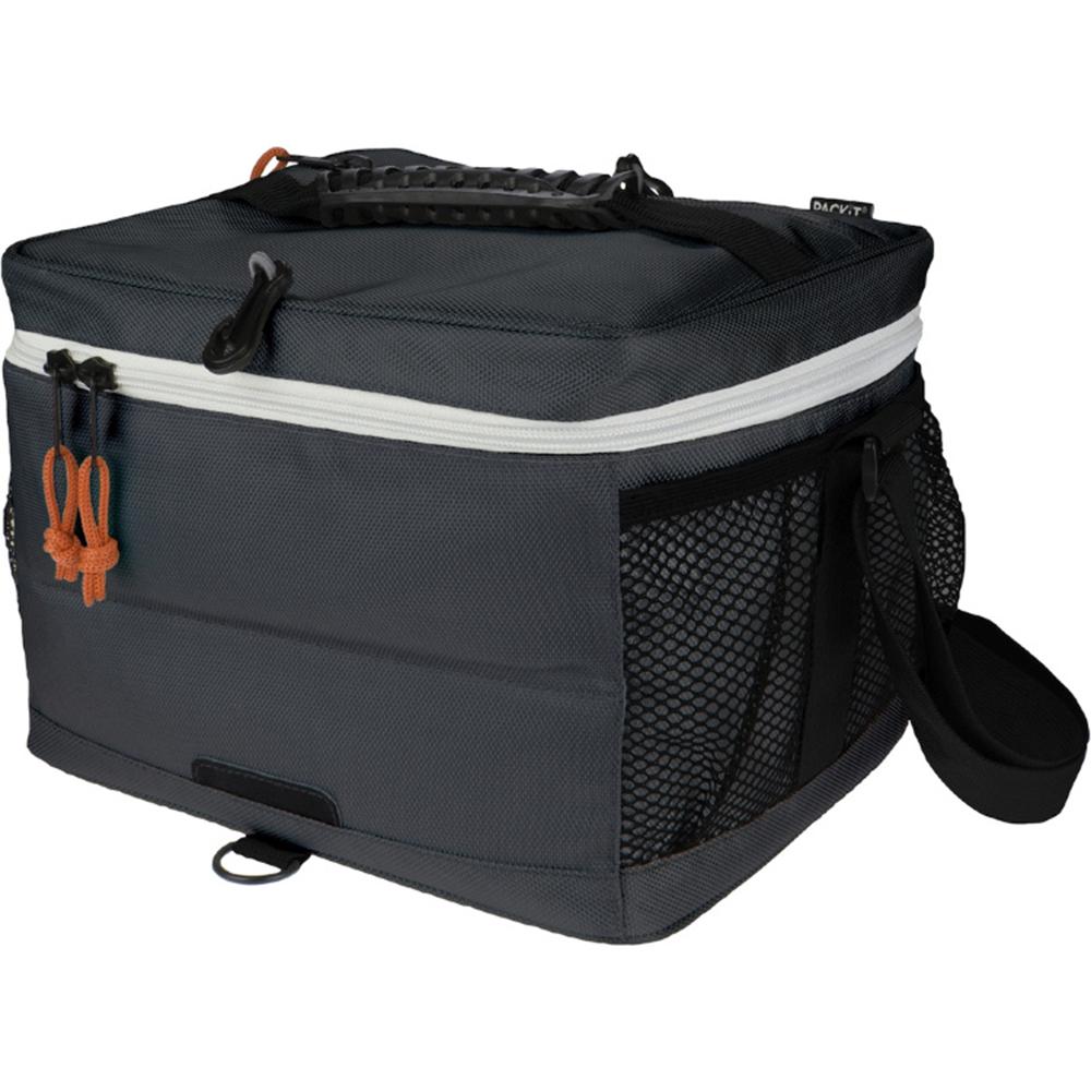 """Сумка-холодильник для напитков """"Packit"""" - это надежное средство для обеспечения необходимой температуры и поддержания ее на протяжении длительного периода времени для транспортировки напитков. Охлаждение содержимых в сумке продуктов в течение 10-ти часов. Наличие плечевого ремня у сумки-холодильника обеспечивает максимальное удобство транспортировки сумки.Вместимость: 18 банок."""