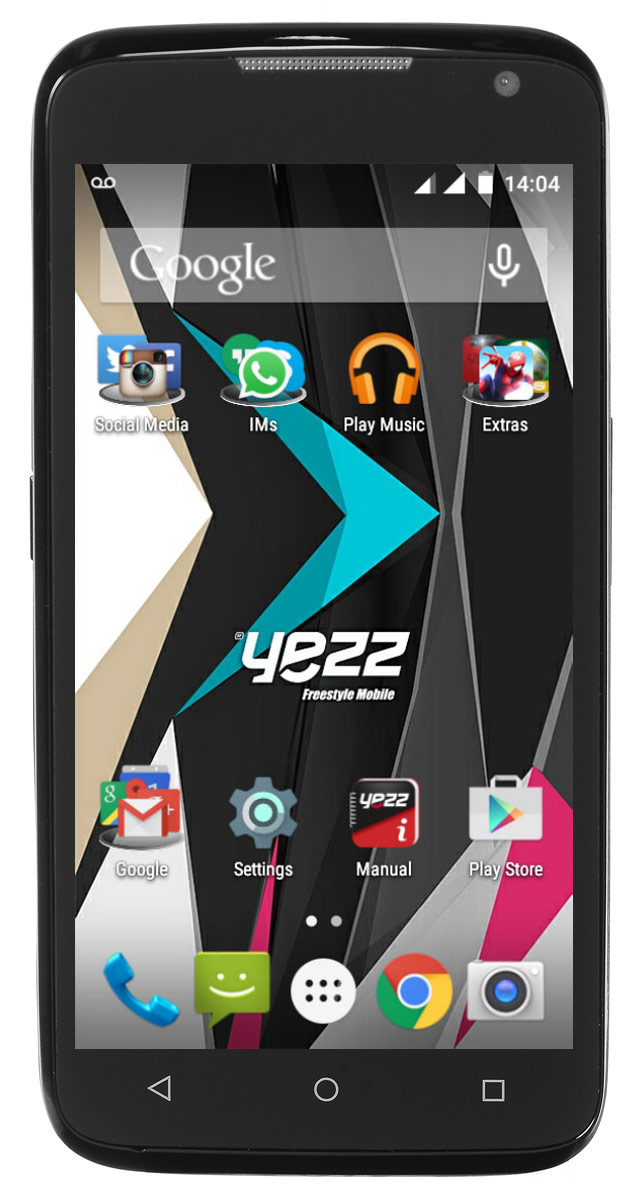 Yezz Andy 4.5EL LTE, Black