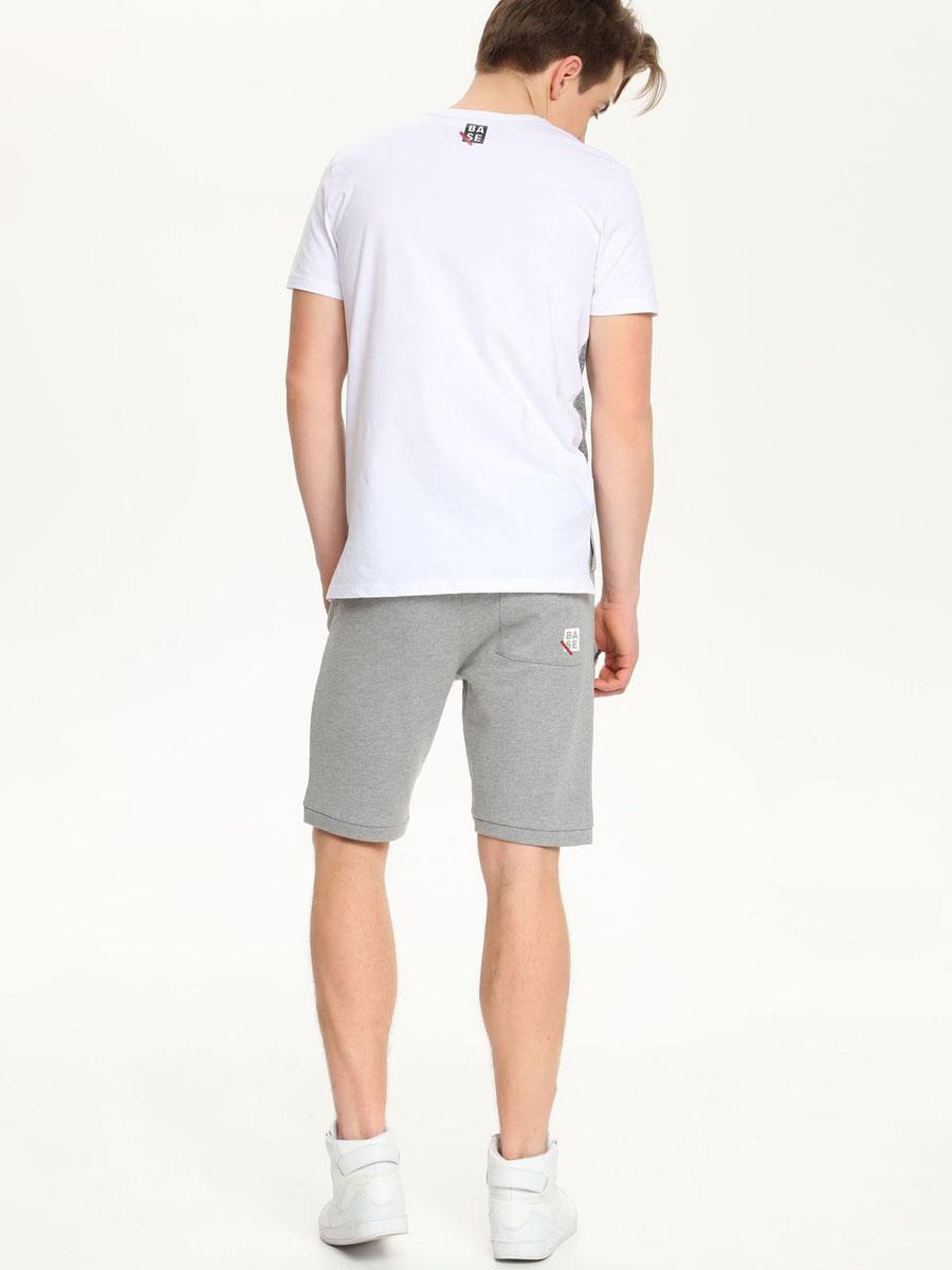 Футболка мужская Drywash, цвет: белый. DPO0263BI. Размер L (48) платье drywash цвет серый dsu0066szf размер 46 48