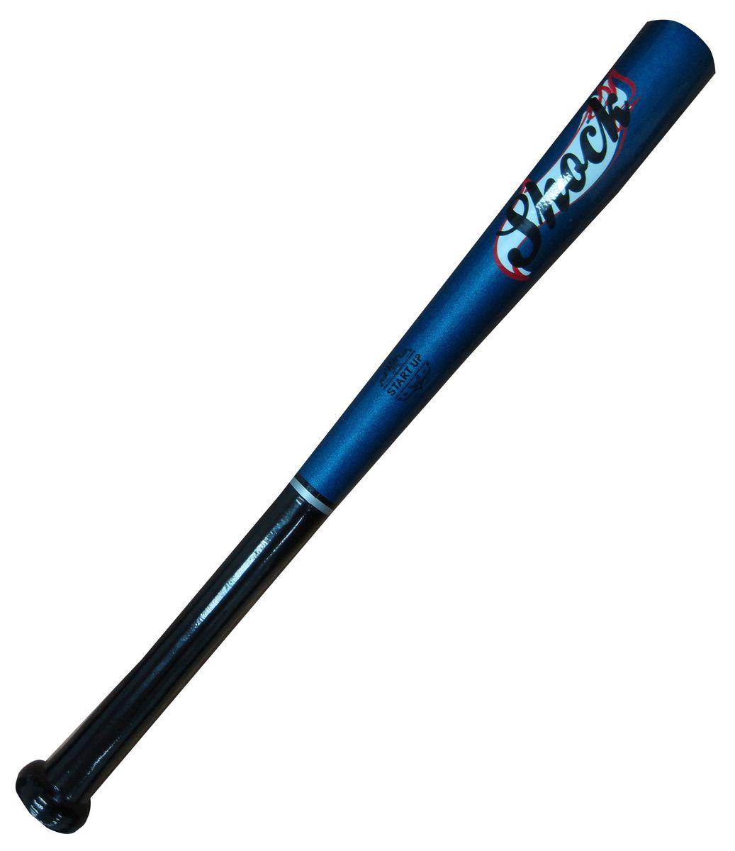 Бита бейсбольная Start UP R Shock, цвет: синий, черный, 21339447Бейсбольная бита Start Up выполнена из каучукового дерева, а это значит, что она невероятно прочная и плотная. Размер - 21 (53 см).
