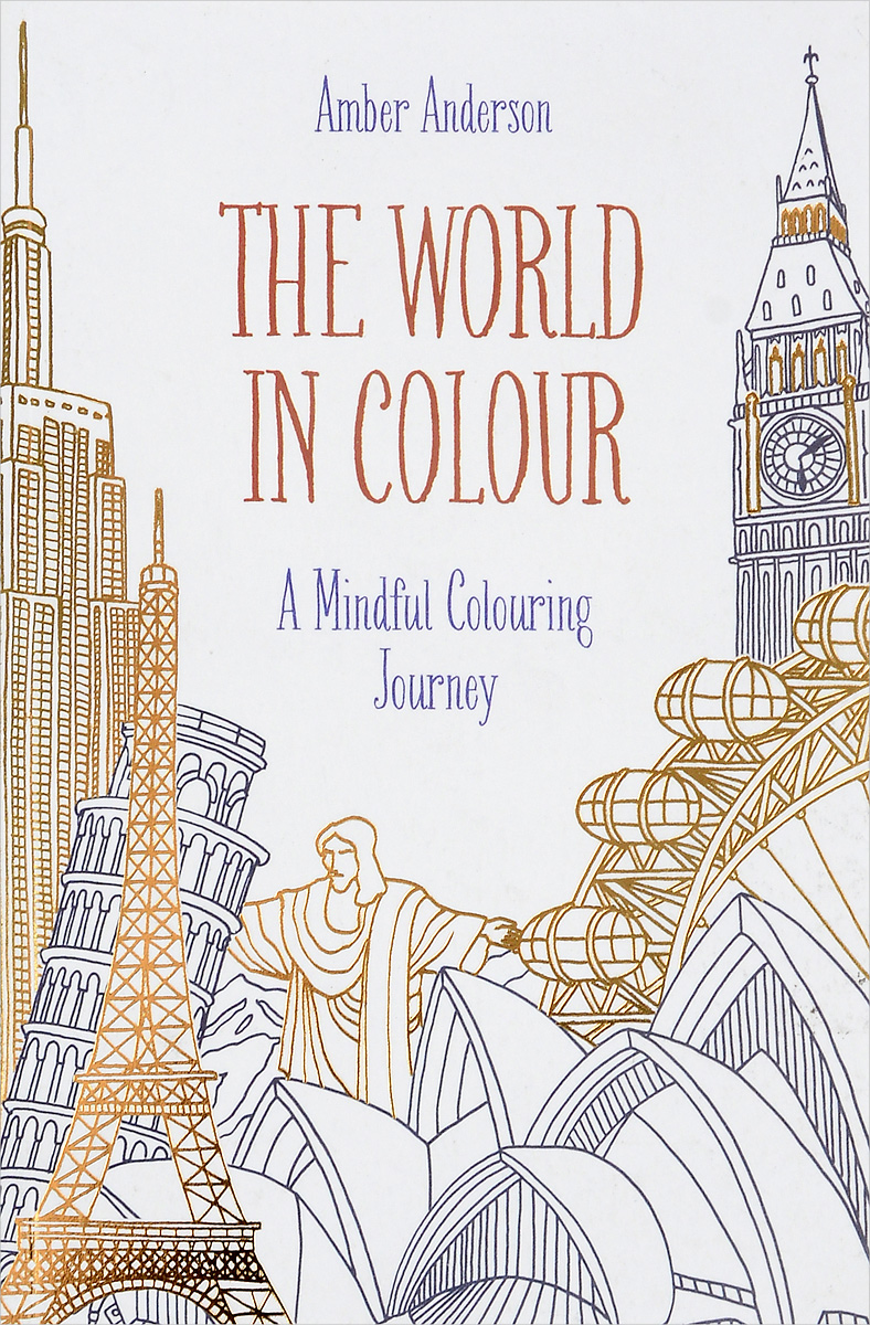 The World in Colour full page bookmark magnifier
