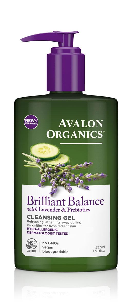 Avalon Organics Гель для демакияжа с лавандой Facial Cleansing Gel, 237 млAV35309Гелевое средство, предназначенное для очищения поверхности кожи любого типа. Мягко и нежно очищает кожу от загрязнений, шелушений и сухости, придает ей «сияние». Нежные растительные очищающие средства, а также корень солодки, лаванды и арники оказывают успокаивающее и смягчающие воздействие на кожу.