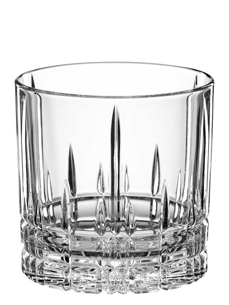 """Набор Spiegelau """"Perfect Cocktail Glass"""" включает 4 бокала для виски. Бокалы выполнены из специального стекла. В этом стекле содержится платина и присутствует всего лишь 5% оксида свинца, намного меньше, чем в традиционном хрустале - и это благотворно сказывается на вкусе напитка. Бокалы изящные, тонкие, легкие и очень прочные, они выдерживают более тысячи циклов в посудомоечной машине, не боятся легких ударов и падений с небольшой высоты. Их характерный благородный блеск не подвластен времени. Благодаря превосходным характеристикам и высокому статусу ведущие рестораны мира отдают предпочтение немецкой марке Spiegelau (Шпигелау).  Диаметр по верхнему краю: 8,2 см.  Высота бокала: 8,1 см."""