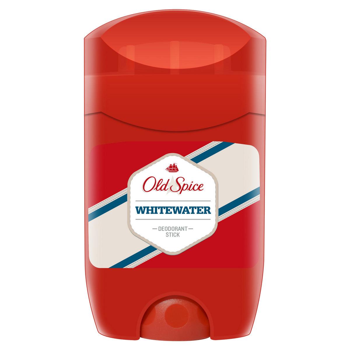 OLD SPICE Твердый дезодорант WhiteWater 50 млOS-81502515Многие считают, что вода - самый мощный элемент на земле. Считают-то, конечно, многие, но все они неправы, так как вода, во-первых, не элемент, а во-вторых, Уран – 235 куда как мощнее. Тем не менее, если верить ученым, Old Spice Whitewater обладает самым свежим запахом, и в этом они абсолютно правы. Ну, по крайней мере те, кто следит за собой. Дезодорант Old Spice поможет тебе избавиться от неприятного запаха. Попробуй Old Spice уже сегодня и докажи, что его аромат — тот самый секретный компонент эликсира мужественности.