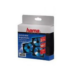 Конверты 2 CD/DVD Hama H-84102, Black (50 шт)84102Конверт Hama H-84102 для CD/DVD с перфорацией для портмоне с кольцами. В комплекте 50 конвертов, каждый из которых рассчитан на 2 диска.