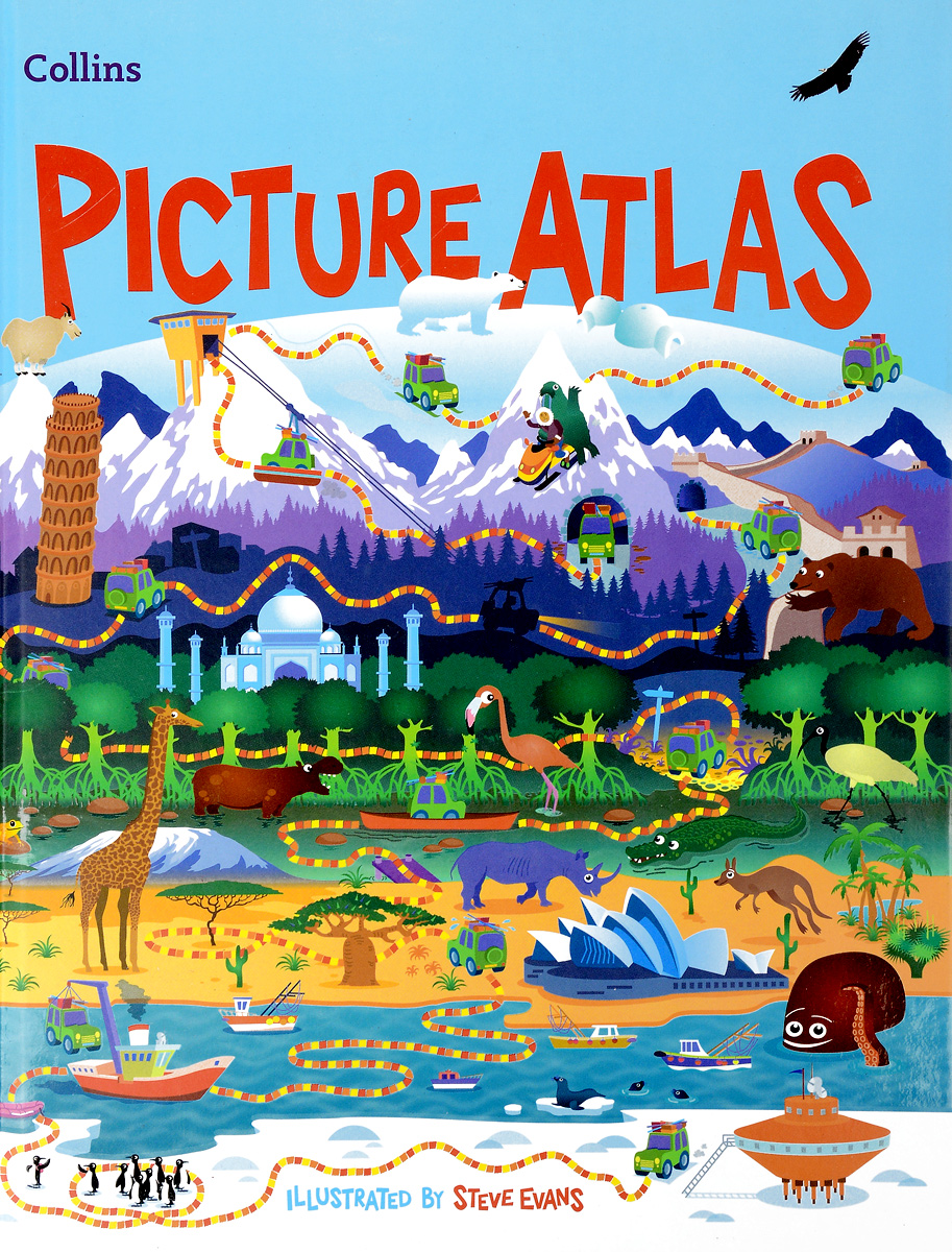 Collins Picture Atlas atlas of the world picture book