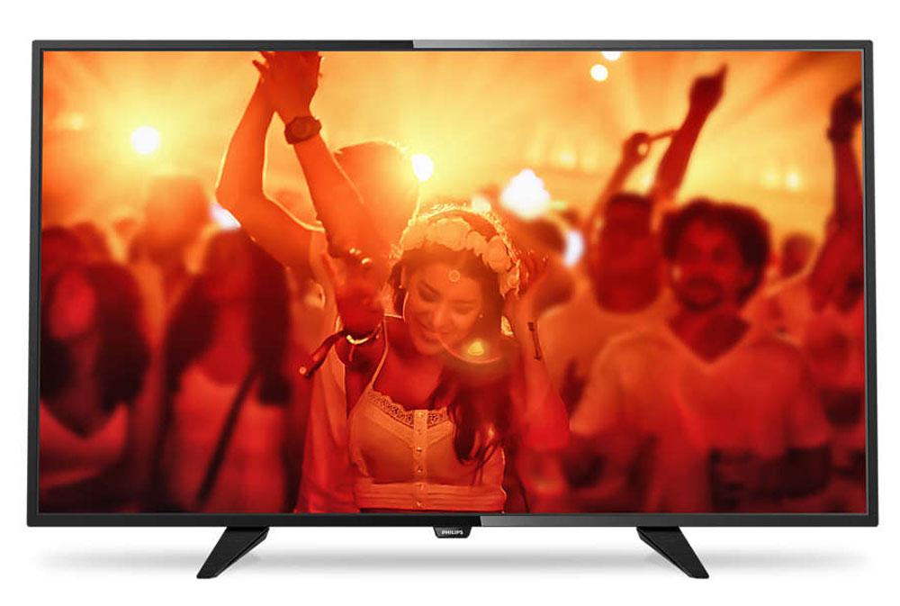 Philips 40PFT4101/60, Black телевизор40PFT4101/60Philips 40PFT4101/60 - сверхтонкий светодиодный Full HD LED-телевизор.Утонченные линии подчеркивают изящность дизайнаИзящный, современный, лаконичный дизайн. Неудивительно, что ультратонкий силуэт телевизора Philips притягивает к себе взгляд - это идеальное решение, которое прекрасно дополнит любой интерьер. USB для воспроизведения мультимедийного контентаДелитесь впечатлениями. Подключите USB-накопитель, цифровую камеру, MP3-плеер или другое мультимедийное устройство через USB-вход телевизора и смотрите фотографии, видео или слушайте музыку, используя удобного экранного обозревателя. Необычная, темная и невероятно надежная подставка. Прочная ультратонкая подставка Philips черного цвета подчеркивает элегантный дизайн телевизора. Несмотря на свой небольшой размер, она отличается непревзойденной устойчивостью.Технология Digital Crystal Clear, разработанная Philips, позволяет насладиться естественным изображением с любого источника. Смотрите любимые сериалы, фильмы, новостные передачи или соберитесь перед телевизором с друзьями - вас удивит превосходное изображение с оптимальной контрастностью, цветопередачей и четкостью.Picture Performance Index сочетает в себе технологию Philips для дисплеев и усовершенствованные техники обработки для улучшения качества каждого аспекта изображения: четкости, динамичных сцен, контрастности и цветопередачи. Независимо от источника вы сможете наслаждаться четким изображением с потрясающей детализацией, глубокими оттенками черного и яркими оттенками белого, а также насыщенными цветами и естественной цветопередачей.Использование одного кабеля HDMI, передающего как видео-, так и аудиосигнал с устройства на телевизор, решает проблему спутанных проводов. HDMI передает несжатые сигналы, обеспечивая самое высокое качество изображения, передаваемого на экран с источника. Благодаря Philips EasyLink вам потребуется лишь один пульт ДУ для выполнения большинства операций: управление телевизором, DVD,