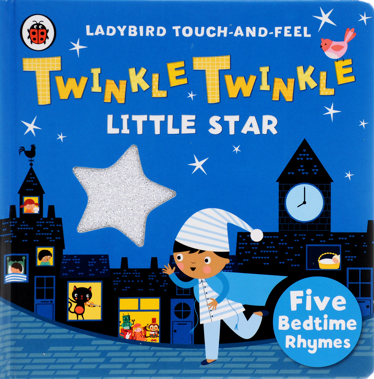 Twinkle, Twinkle, Little Star: Ladybird Touch and Feel Rhymes лонгслив printio 62 2% в саратове