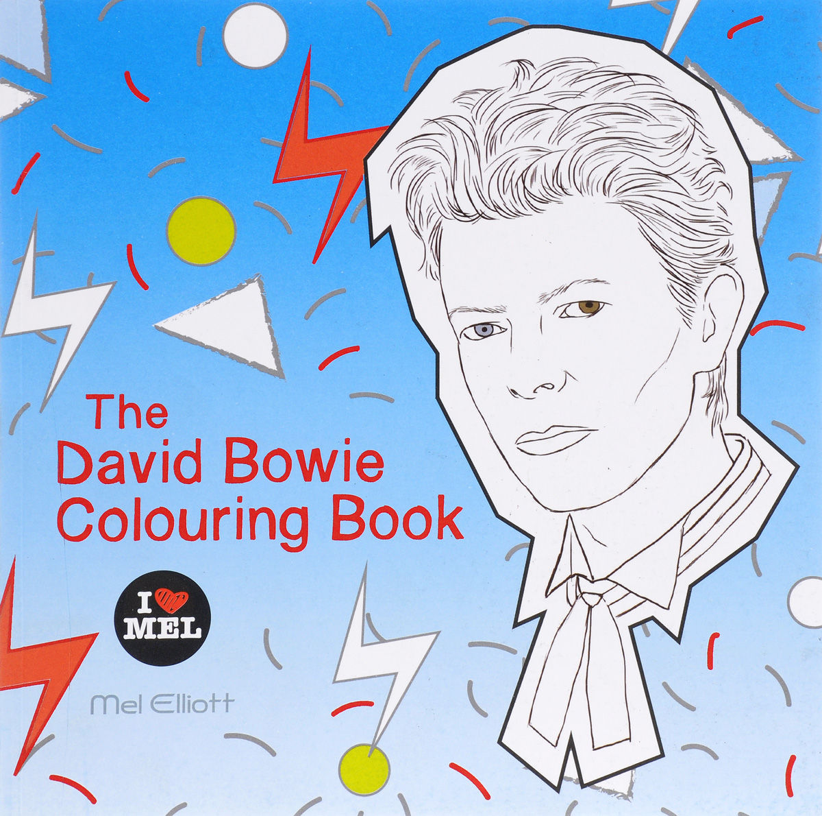 The David Bowie Colouring Book great britain colouring book