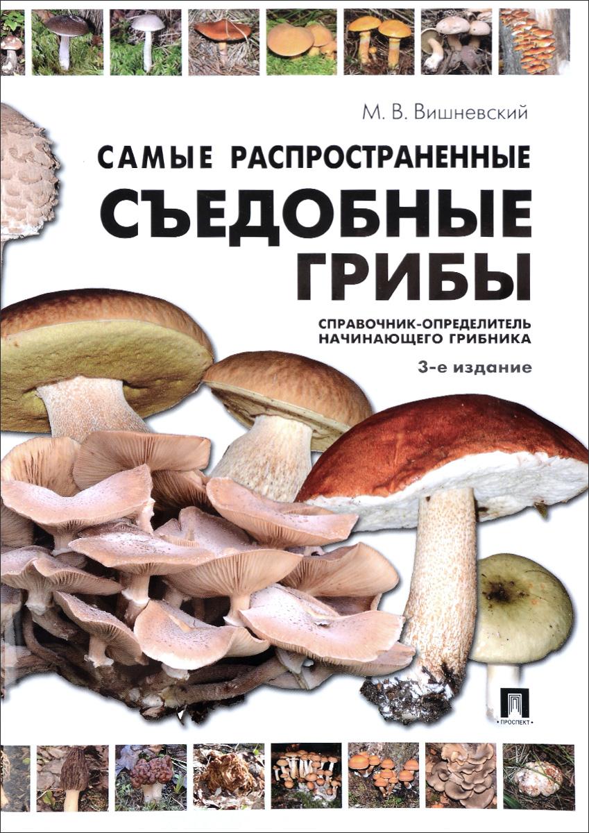 Самые распространенные съедобные грибы. Справочник-определитель начинающего грибника. М. В. Вишневский