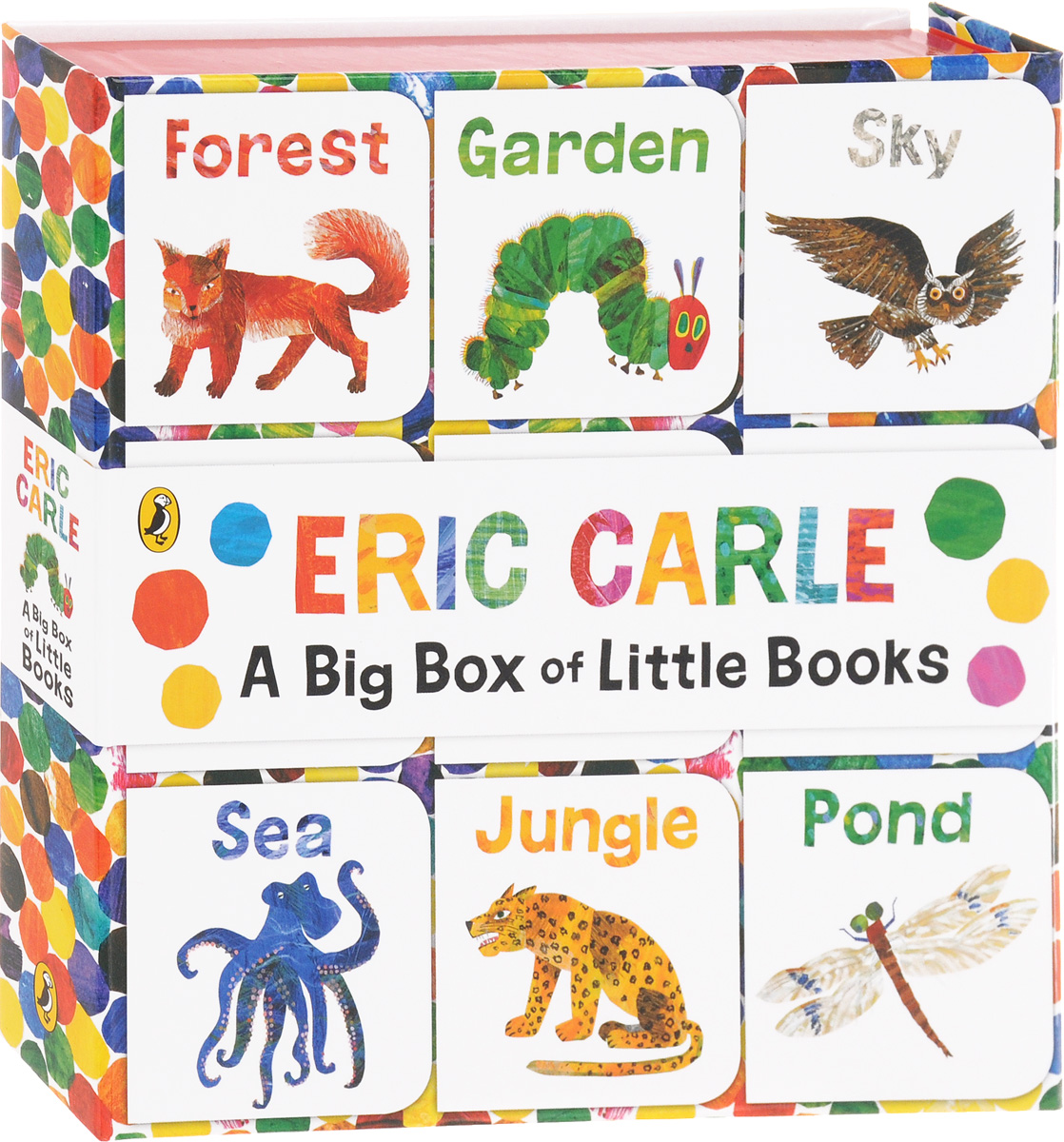 A Big Box of Little Books boats puzzle books