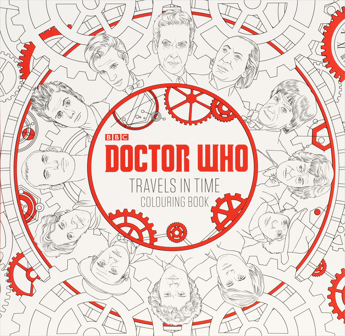 Doctor Who: Travels in Time: Colouring Book escape to shakespeare s world a colouring book adventure