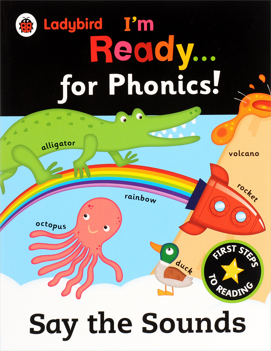 Ladybird: I'm Ready for Phonics: Say the Sounds my phonics 1 the alphabet activity book рабочая тетрадь