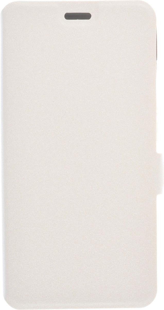 Prime Book чехол для ZTE Blade X3, White2000000082578Чехол Prime Book для ZTE Blade X3 выполнен из высококачественного поликарбоната и экокожи. Он обеспечивает надежную защиту корпуса и экрана смартфона и надолго сохраняет его привлекательный внешний вид. Чехол также обеспечивает свободный доступ ко всем разъемам и клавишам устройства.