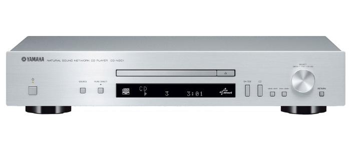 CD-плеер Yamaha CD-N301, SilverACDS300SCD-N301 — это CD-проигрыватель и сетевой аудиоплеер в одном аппарате. Помимо компакт-дисков он может без труда воспроизводить аудиоконтент, скачанный из Интернета и хранящийся в ПК или сетевом хранилище. А специальное программное приложение NP CONTROLLER позволяет слушать любимую музыку со смартфона или планшета с использованием беспроводного соединения.