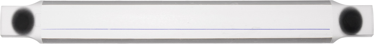 Лупа-линейка для чтения схем Hemline Stitch Garden, длина 23 смN9115Лупа-линейка для чтения схем Hemline Stitch Garden, выполненная из прозрачного пластика, имеет силу магнита 2,5х. Удобные эргономичные ручки для легкого выравнивания по линии. Магниты надежно крепят схему. Прекрасное дополнение к магнитной рамке для вышивания по бумажной схеме (артикул N9116).