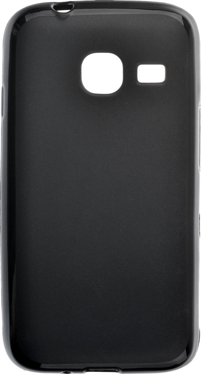 Skinbox Shield Silicone чехол для Samsung Galaxy J1 mini (2016), Black чехлы для телефонов skinbox samsung galaxy j1 2016 shield 4people
