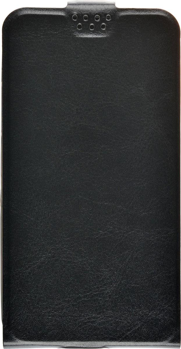 Skinbox Slim Flip чехол для LG K5, Black2000000091174Чехол Skinbox Slim Flip для LG K5 выполнен из высококачественного поликарбоната и экокожи. Он обеспечивает надежную защиту корпуса и экрана смартфона и надолго сохраняет его привлекательный внешний вид. Чехол также обеспечивает свободный доступ ко всем разъемам и клавишам устройства.