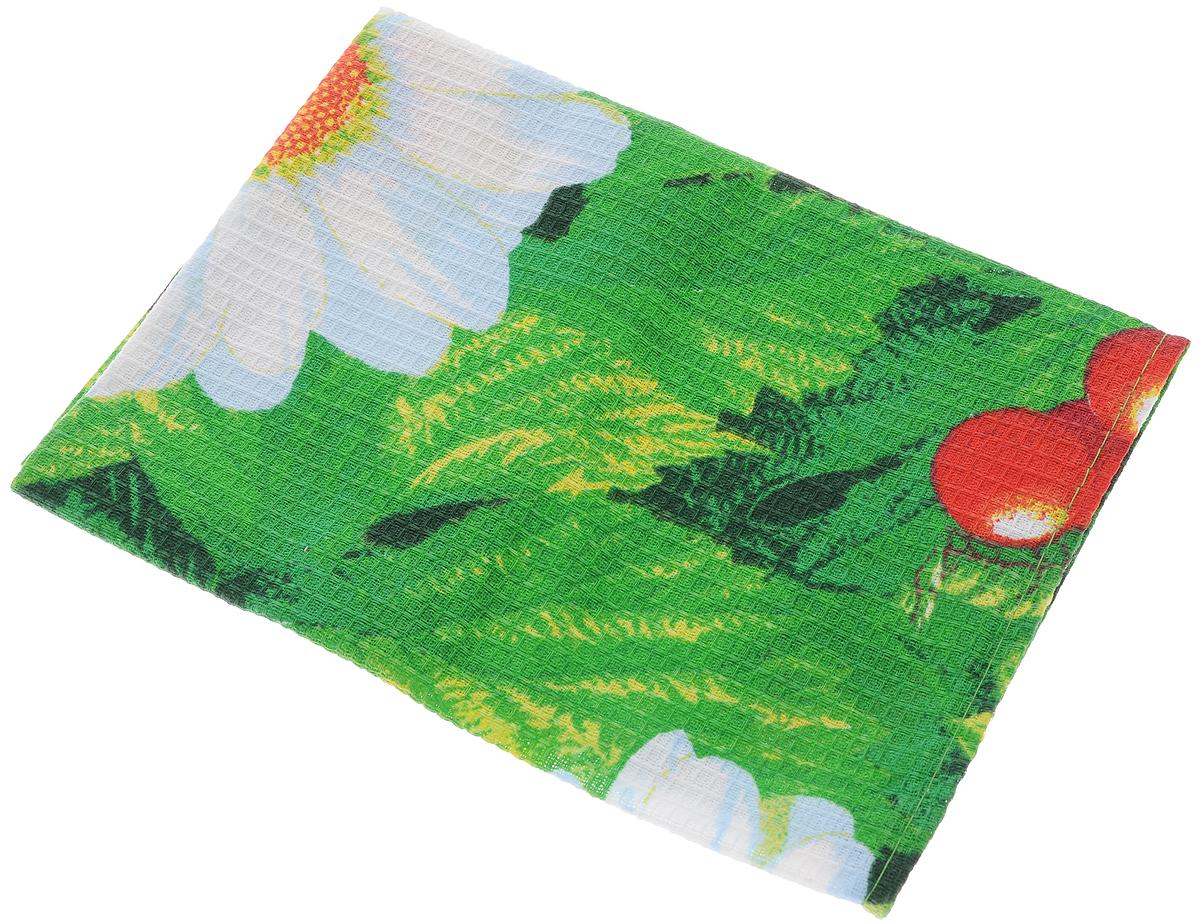 Полотенце кухонное Roko, 60 х 30 см115354Кухонное полотенце Roko, выполненное из 100% хлопка,оформлено оригинальным принтом. Изделие предназначенодля использования на кухне и в столовой. Оно отличновпитывает влагу, быстро сохнет, сохраняет яркость цвета и нетеряет форму даже после многократных стирок. Такое полотенце станет отличным вариантом для практичнойи современной хозяйки.Рекомендуется стирка при температуре 40°C. Уважаемые клиенты! Товар поставляется в цветовом ассортименте. Поставкаосуществляется в зависимости от наличия на складе.