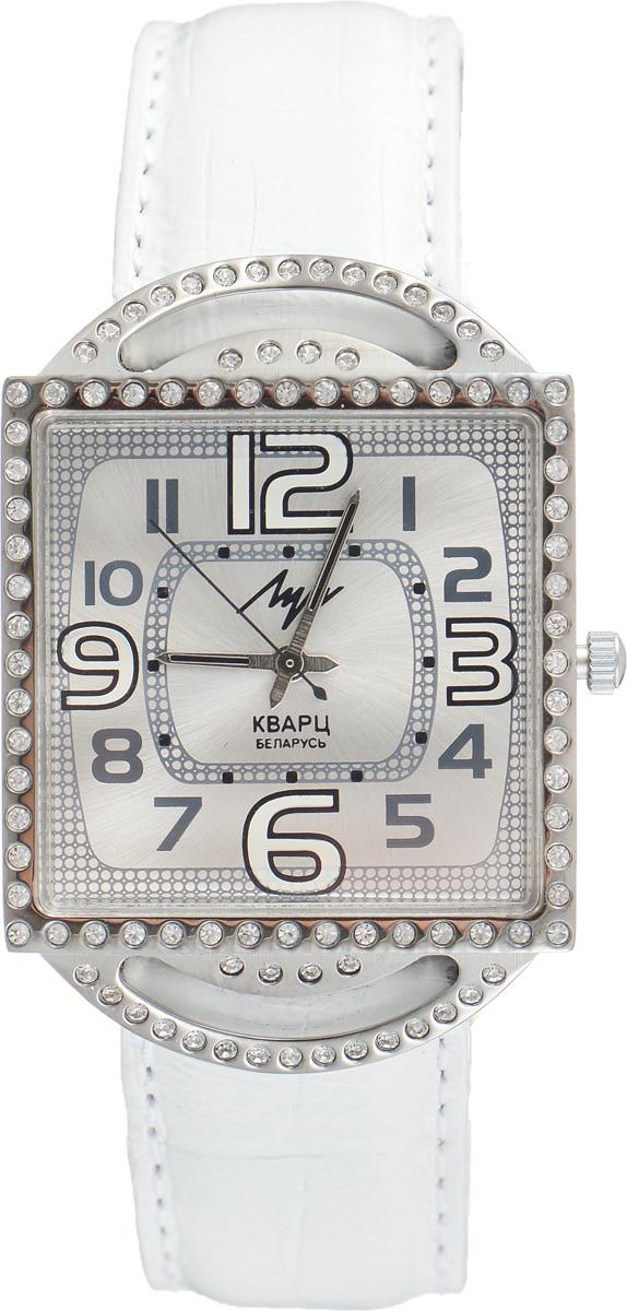 Часы наручные женские Луч, цвет: серебряный, белый. 71601766