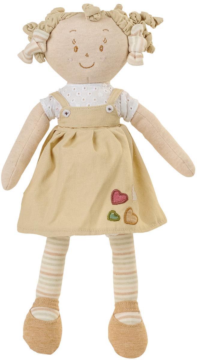 BabyOno Мягкая кукла Лили цвет платья бежевый