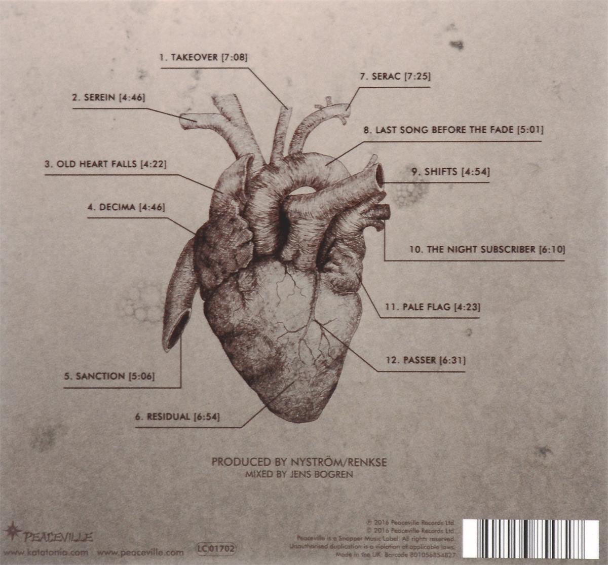 Katatonia.  The Fall Of Hearts Волтэкс-инвест,Peaceville Records