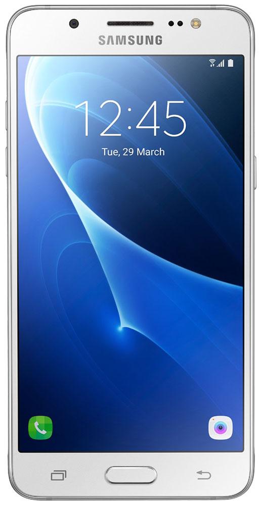 Samsung SM-J510FN Galaxy J5 (2016), WhiteSM-J510FZWUSERSamsung SM-J510FN Galaxy J5 отличается элегантным и стильным дизайном, который усиливает впечатление от смартфона.При толщине 7,9 мм и ширине 72 мм, смартфон Samsung Galaxy J5 выглядит более чем изящно, а приятная на ощупь текстура корпуса подчеркивает элегантность формы и ощущение комфорта при использовании смартфона.Аккумулятор с емкостью 3100 мАч позволит оставаться на связи дольше обычного. При отсутствии возможности подзарядки используйте режим максимального энергосбережения.Мощный 4-ядерный процессор Qualcomm MSM8916 и 2 ГБ оперативной памяти обеспечивают мгновенную реакцию смартфона на любые ваши действия.Удобное приложение Smart ManageПростой способ управления основными функциями смартфона: уровень заряда аккумулятора, доступный объем памяти, состояние использования оперативной памяти и безопасность смартфона.Телефон сертифицирован Ростест и имеет русифицированный интерфейс меню, а также Руководство пользователя.